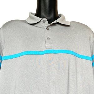 Haggar Cool 18 Performance Short Sleeve Golf Polo